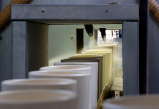 Pulverbeschichtungsanlage Hörter Tonwarenfabrik Ransbach-Baumbach
