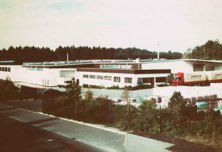 Büro und Lager der Hörter Tonwarenfabrik in 1984
