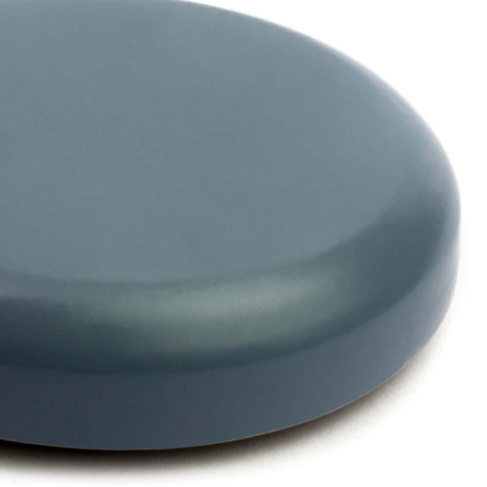 636 smokey-blue matt farbe keramik tontopf